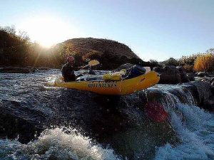 Rafting Orange River