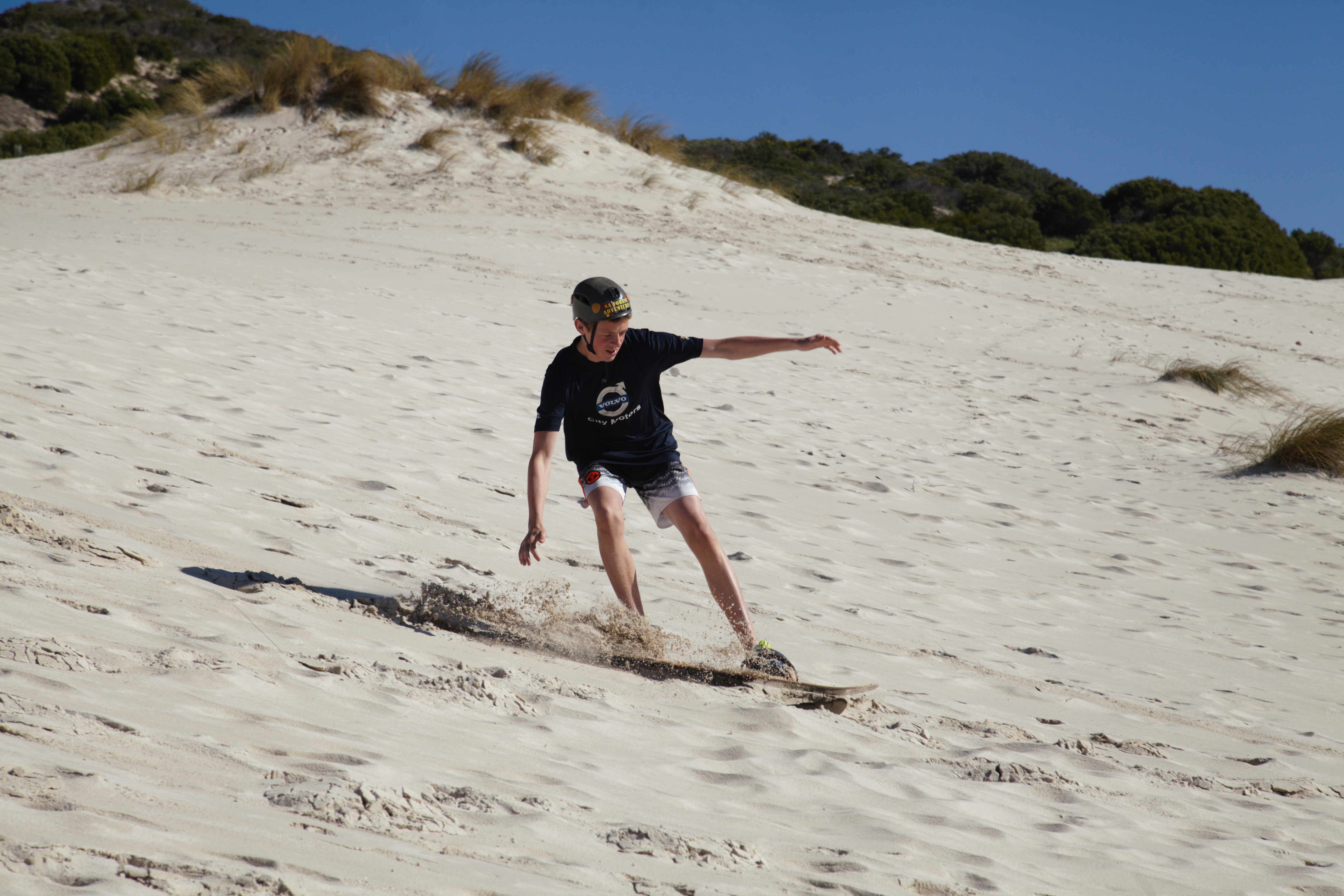 Cape Town Sandboarding also in Betty`s Bay you select the venue
